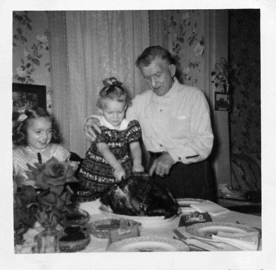 THANKSGIVING  1954/55 by Heidi Mooney-Hill