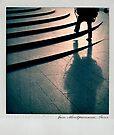Walking polaroïd by Laurent Hunziker