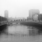 Foggy Dublin by Esther  Molin