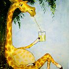 Gerald&#x27;s Afternoon Sip by Angela  Burman