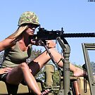 Christy Taking Aim by LibertyCalendar