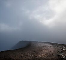 Towards Striding Edge by David Robinson