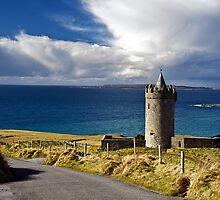 Doolin Irish Castle, County Clare, Ireland by upthebanner