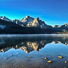 Sunrise at Stanley Lake by Jim Terry