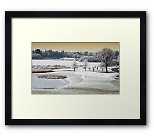 Dromoland Castle Hotel, Winter, County Clare, Ireland Framed Print