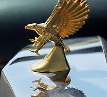 "1986 Zimmer ""Eagle"" Hood Ornament by Jill Reger"