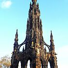 Scott Monument by Braedene