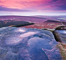 Higger Tor Sunrise by James Grant