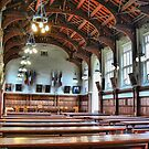 Christ's College --- Inside Shades of Harry Potter by Larry Davis
