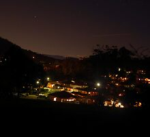 Neighbourhood lights over the valley  by AmyBonnici