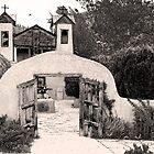 Sanctuario de Chimayo Mission by Jeff Chavez