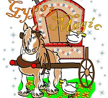 Gypsy Magic Calendar (cover and artwork) by Diana-Lee Saville