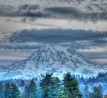 Mt Rainier in HDR by skreklow