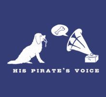 His Pirate's Voice (White) by actualchad