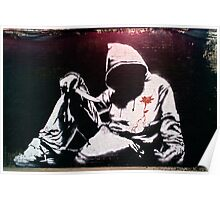 Hoodie by Banksy Poster
