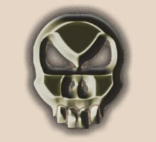 Alien Weird Death Skull by TOM HILL - Designer