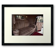 1941 Lincoln Continental City Limousine owned by Henry Ford Framed Print