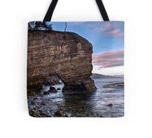 Fossil Cove, Tasmania Tote Bag