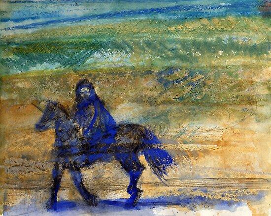 Horse and rider by Visuddhi