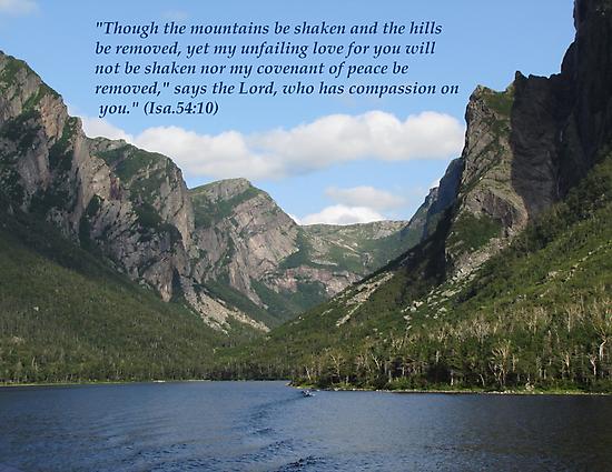 Isaiah 54:10 by hummingbirds