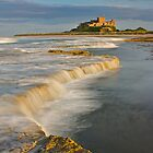 Bamburgh Castle by Andrew Doggett