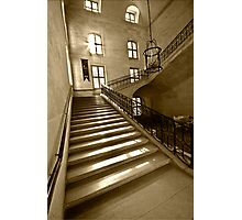 Stairs in Army Museum (Musee de l'Armee)  Photographic Print