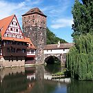Nrnberg with Pegnitz River by TrixiJahn