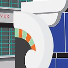 Hoover Building, London by exvista