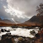 The Wild Glen Etive by Brian Kerr