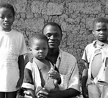 Proud Dad - Burkina Faso by Nick Bradshaw