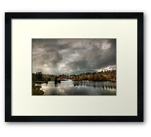 Afternoon light, Tarn Hows Framed Print