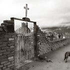 Taos Pueblo Cemetery - New Mexico by Lisa Blair