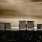 Brighton Deckchairs by Nicole Carman Photography