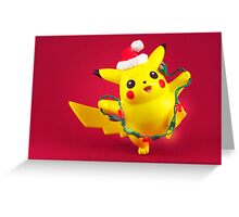 Pikachu's Christmas  Greeting Card