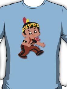 Cute retro Kid Billy as a Native Indian T-Shirt
