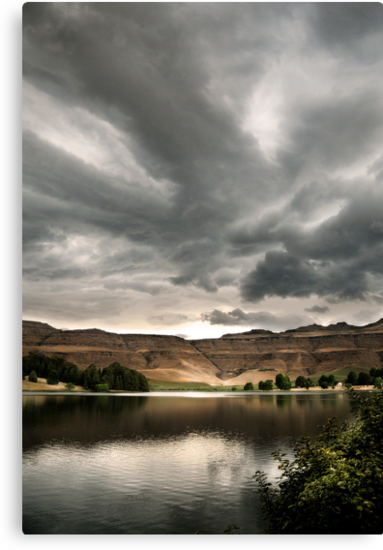 Drakensberg storm clouds, Kwazulu Natal, South Africa by Sharon Bishop