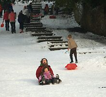 Fun In The Snow 2 by Franco De Luca Calce