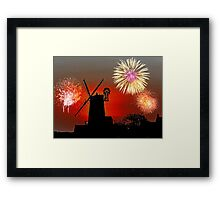 Cley Fawkes Night Framed Print