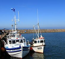 Fishing Boats at St Andrews by Paul Bettison