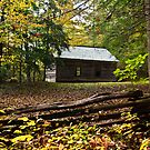 Little Greenbrier School House by Phillip M. Burrow