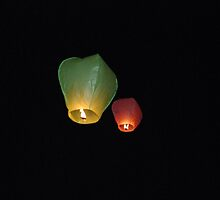 Two Lanterns by Karen Martin