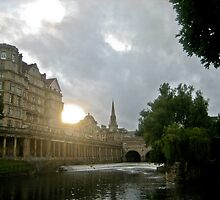 Sunset in Bath by keyconcept