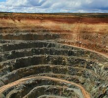 Open Cut Mine by Tainia Finlay
