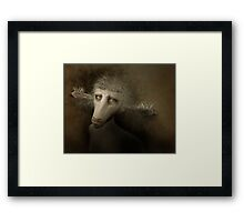 The Creature Who Sold Brushes Framed Print