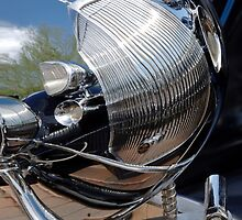 1933 Packard Grille in Head Light by Jill Reger