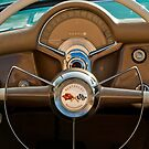 1954 Chevrolet Corvette Convertible Steering Wheel by Jill Reger