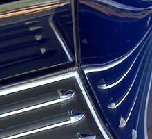 1933 Packard 12 Convertible Side Board Abstract by Jill Reger