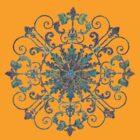 Wrought Iron pattern  by DAdeSimone