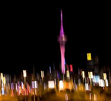 Auckland Sky Tower 2 by Shelly Linehan