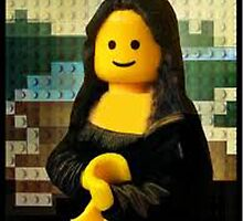 Lego Mona Lisa by grendock